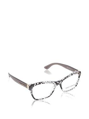 Dolce & Gabbana Montura 3198 2854 (54 mm) Gris / Blanco