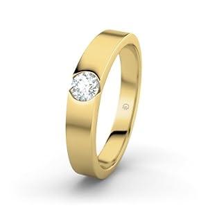 21Diamonds - Citrine Yellow Gold Ring Katie