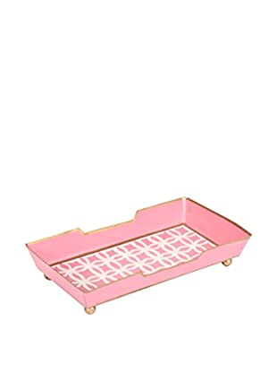 Jayes Rings Guest Towel Tray, Pink