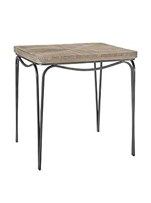 Homeware Bingham Distressed Wood End Table