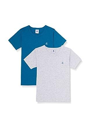 Petit Bateau Pack x 2 Camisetas Manga Corta