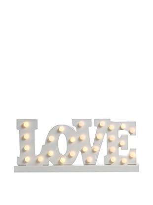 SuperStudio Wanddeko LED Love