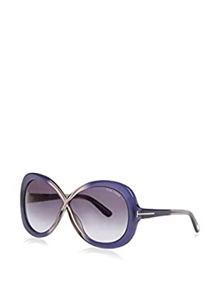 Tom Ford Occhiali da sole Margot (63 mm) Blu/Trasparente
