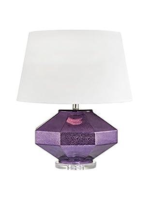 Artistic Lighting Table Lamp, Mercury Amethyst