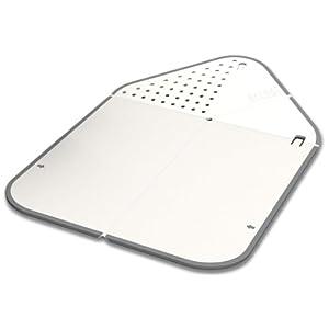 リンス&チョップ - まな板と水切りが一つになった進化した折り畳みまな板
