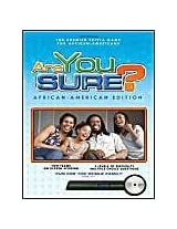 Are You Sure? African American Edition DVD Trivia Game