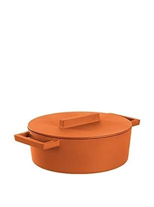 Sambonet Kasserolle mit Deckel orange
