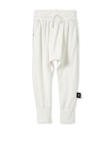 NUNUNU Baby Baggy Knit Pants (White)