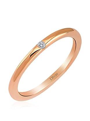 Divas Diamond Anillo Diamante Vintage (Oro)