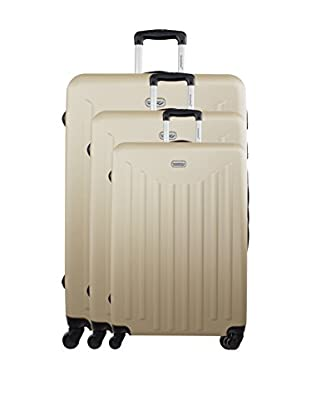 AMERICAN TRAVEL 3er Set Hartschalen Trolley Brooklyn