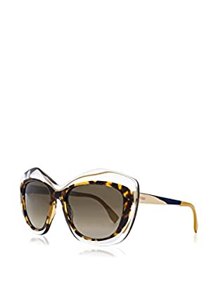 Fendi Gafas de Sol FF 0029/ S HA7NQ (54 mm) Marrón / Amarillo