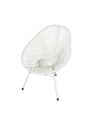 Jeffan Scoop Side Chair, White