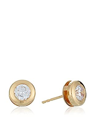 Gold & Diamonds Pendientes Sunflower oro 18 ct