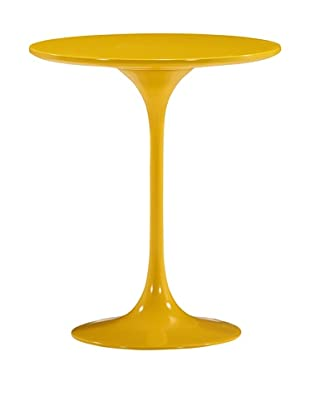 Zuo Modern Wilco Side Table, Yellow