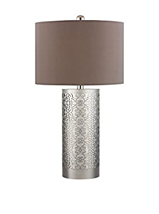 Artistic Lighting Table Lamp, Polished Nickel