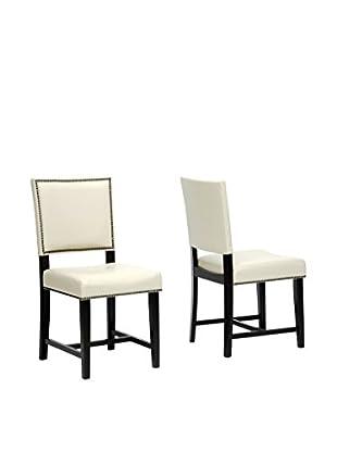 Baxton Studio Set of 2 Nottingham Dining Chairs