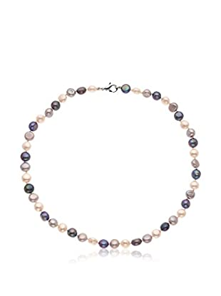 Pearl Addict Collar Gris / Blanco