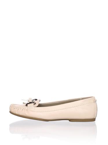 Adrienne Vittadini Women's Trixie Loafer (Light Beige)
