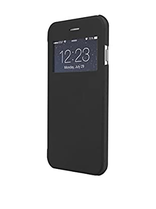 UNOTEC Funda Flip-S iPhone 6 Plus / 6S Plus / 6S Plus Negro