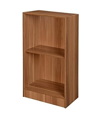 Niche Deskside Bookcase, Warm Cherry