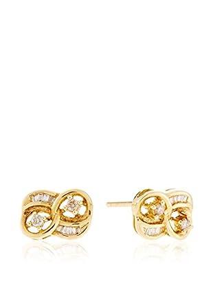 Gold & Diamond Ohrringe  18 Karat Gold