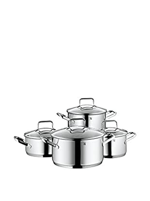 WMF Trend 8 Pc. Cookware Set, Stainless Steel Grey