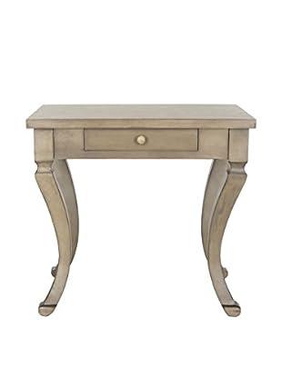 Safavieh Colman Side Table, Saddle Brown