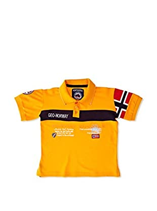 Geographical Norway Polo Karaft Ss Boy 100 (Naranja)