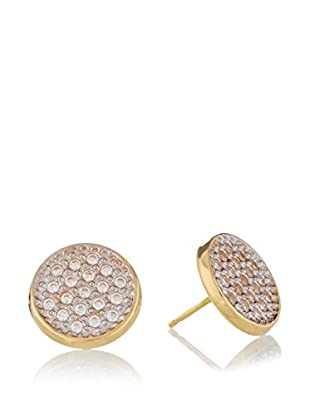 RHAPSODY Pendientes oro bicolor 18 ct