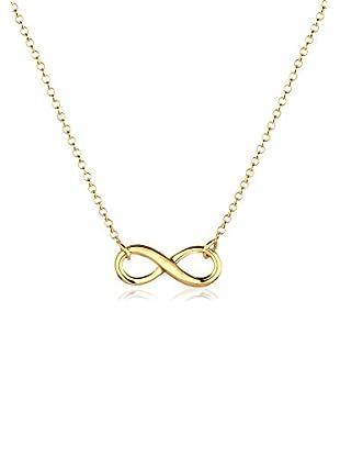 Goldhimmel Halskette Infinity Vergoldet gold