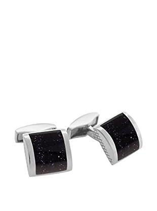 Tateossian Manschettenknopf CL1060 Sterling-Silber 925