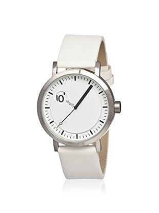 Simplify Men's SIM0203 The 200 White Leather Watch