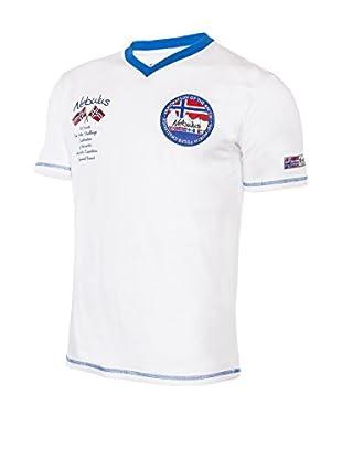 Nebulus Camiseta Manga Corta Jordan Blanco L