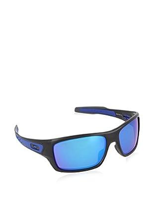 Oakley Sonnenbrille Turbine (63 mm) schwarz/blau