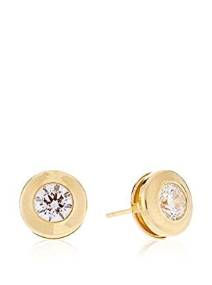 Gold & Diamonds Orecchini Sunflower oro giallo 18 Kt