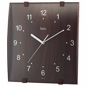 felio (フェリオ) 壁掛時計 モス FEW118-BR ブラウン