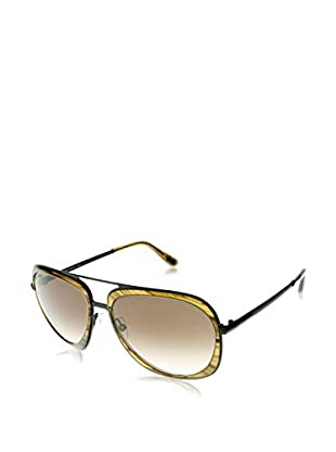 Tom Ford Sonnenbrille Andy (59 mm) schwarz/gelb