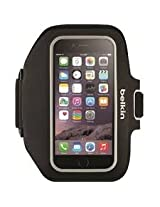 Belkin Sport-Fit Plus Armband for Apple iPhone 6 - Retail Packaging - Gray