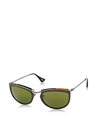 Persol Sonnenbrille Po3082S 1007O8 (52 mm) grün/havanna