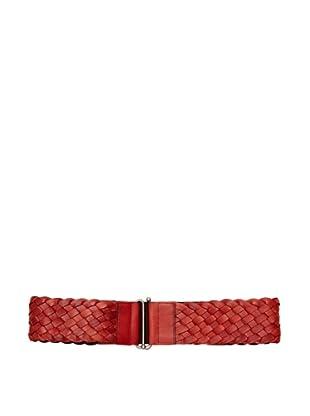 Sándalo Cinturón Trenzado (Rojo)