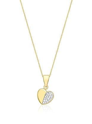 Carissima Gold Conjunto de cadena y colgante