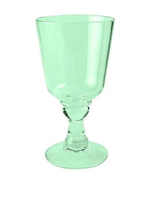 Firenze Acrylic Goblet, Green