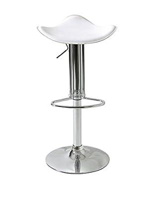 TrendyItalia Set Taburete de bar 2 Uds. Bellini Blanco