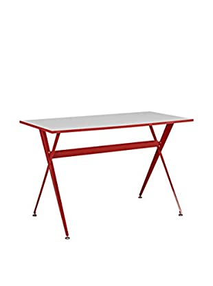 Modway Expound Desk, Red