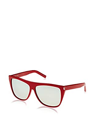 Yves Saint Laurent Gafas de Sol SL 1 (59 mm) Rojo