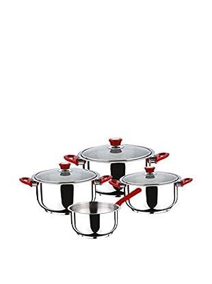 Bergner Batería de cocina 7 Piezas BGIB-4039 Gris