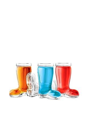 Final Touch Set of 4 Das Boot 1.5-Oz. Shot Glasses