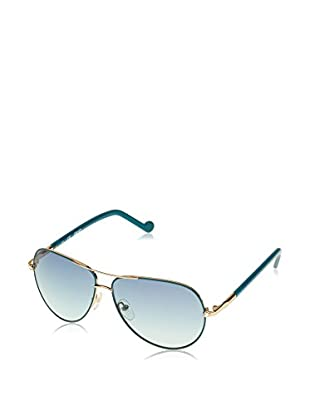 Liu Jo Sonnenbrille 100SR_709 (57 mm) blau/goldfarben
