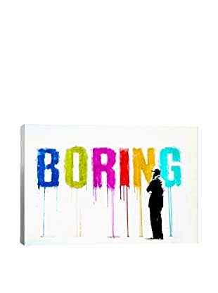 Boring III Gallery Wrapped Canvas Print