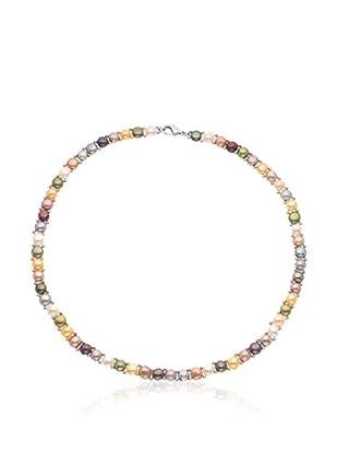 Compagnie générale des perles Halskette Sterling-Silber 925
